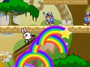 Jouer à Rainbow rabbit adventure