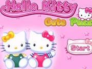Jouer à Hello Kitty Cute Puzzle