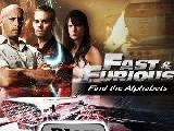 Jouer à Fast and furious find the alphabets