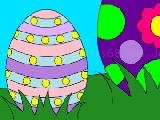 Jouer à Easter eggs coloring