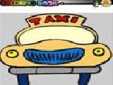 Jouer à Taxi car coloring game