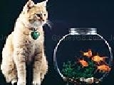 Jouer à Domestic cat and fishes puzzle