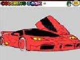 Jouer à Fast car coloring game