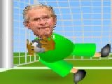 Jouer à George bush new job :goalkeeper