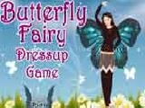 Jouer à Butterfly fairy dress up game