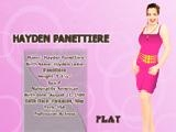 Jouer à Hayden panettiere dress up game