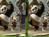 Jouer à Kung fu panda spot the difference