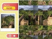 Row puzzle - great wall