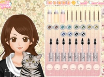 Jouer à Shoujo manga avatar creator pet