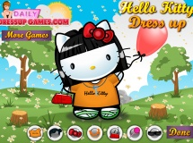 Jouer à Hello kitty dress up game