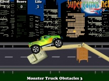 Jouer à Monster truck obstacles 3