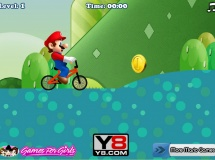 Jouer à Mario riding bike