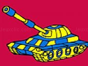 Jouer à Modern military tank car coloring