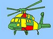 Jouer à Aviation helicopter coloring
