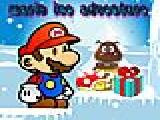 Jouer à Mario ice adventure