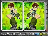Jouer à Ben10 - spot the difference