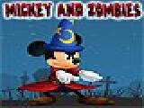 Jouer à Mickey and zombies