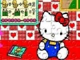 Jouer à Hello kitty jigsaw puzzle 49 pieces