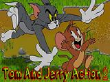 Jouer à Tom and jerry action 2