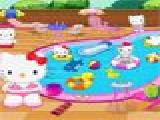 Jouer à Hello kitty swimming pool decor
