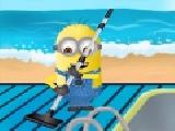 Jouer à Minion s swimming pool clean up