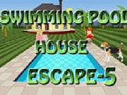 Jouer à Swimming Pool House Escape 5