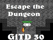 Jouer à [GiTD #30] Escape the Dungeon