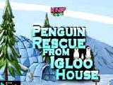 Jouer à penguin rescue from igloo house