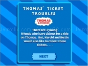 Jouer à Thomas and friends - thomas ticket trouble