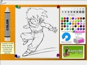 Jouer à Dragon ball coloring07