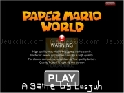 Jouer à Paper mario world game