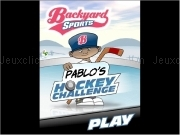 Jouer à Backyard sports - pablo's hockey challenge