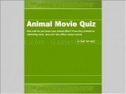 Jouer à Animal movie quiz