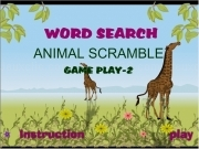 Jouer à Word search game play 2
