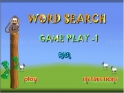 Jouer à Word search game play 1