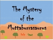 Jouer à The mystery of the muttaburrasaurus