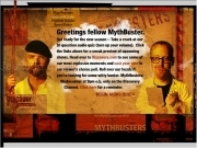 Jouer à Mythbusters audio quiz