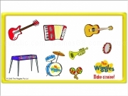 Jouer à The wiggles instruments