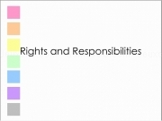 Jouer à Rights and responsibilities