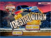 Jouer à Hotwheels monster jam destruction