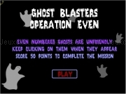 Jouer à Ghost blasters operation even