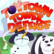 Jouer à Toy town tower defense