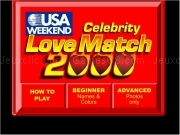 Jouer à Celebrity love match 2000