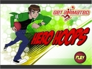 Jouer à Ben10 - hero hoops