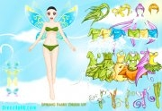 Jouer à Spring fairy dress up game