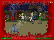 Jouer à The simpsons zombie game