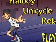 Jouer à Frat boy unicycle relay
