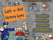 Jouer à Catch a thief memory game