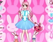 Jouer à Bunny girl dress up game