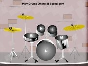 Jouer à Virtual drums